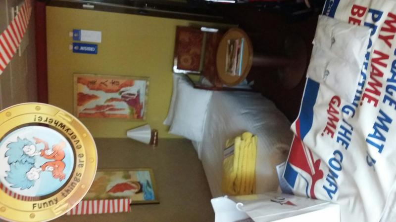 Carnival Splendor cabin 1011