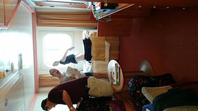 Carnival Splendor cabin 2407
