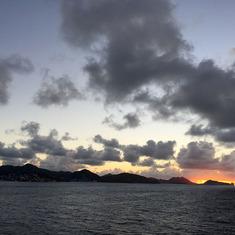 Arrival in St. Maarten