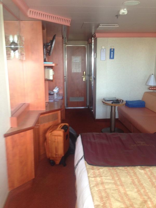 Balcony Stateroom Cabin Category 8e Carnival Valor