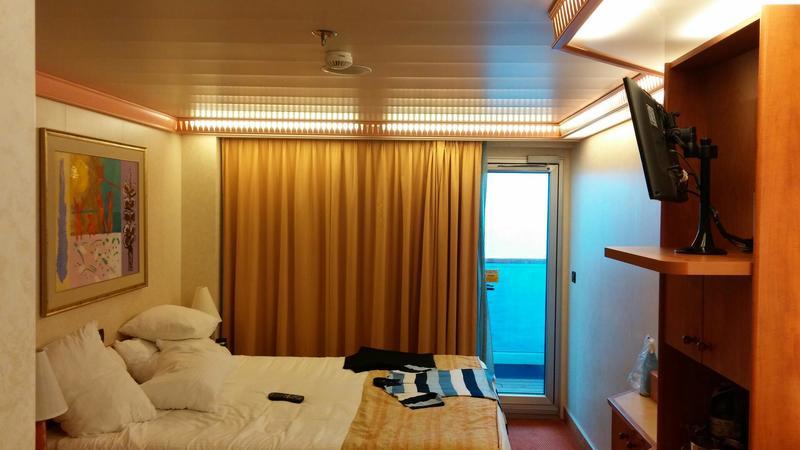Balcony Cabin 8289 On Carnival Glory Category 8d