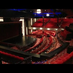 Royal Court Theatre on Queen Mary 2
