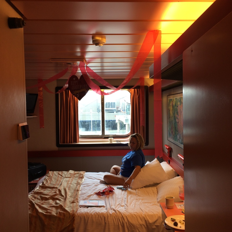 Oceanview Cabin E151 On Carnival Elation Category 6e
