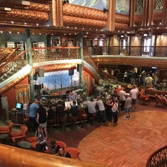 Lobby Bar on Carnival Spirit