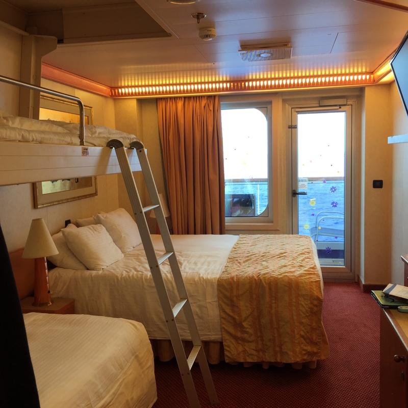 Carnival Conquest cabin 6243