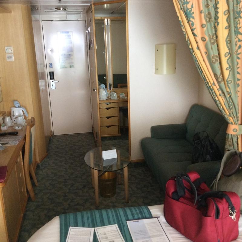 Balcony cabin 6388 on mariner of the seas category e1 - Mariner of the seas interior stateroom ...