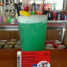 Blue Iguana Tequila Bar on Carnival Freedom