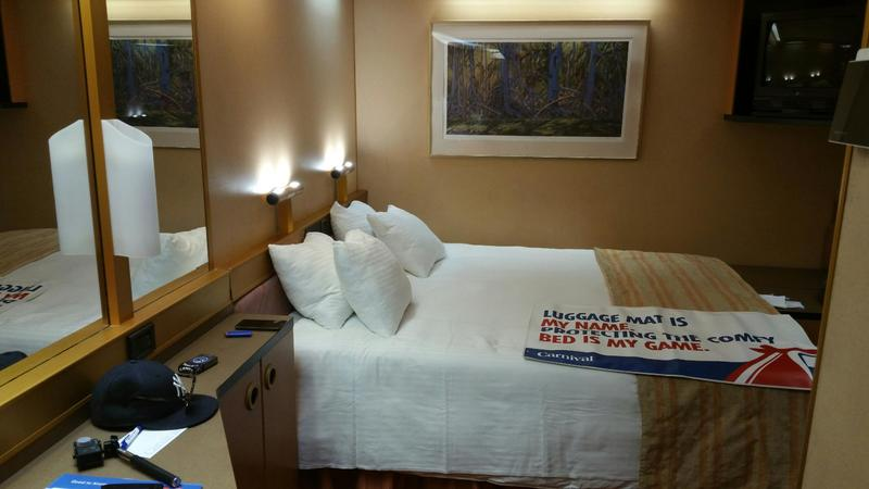 Interior Stateroom on Carnival Victory