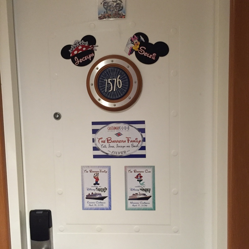 Disney Wonder cabin 7576