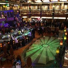 Maschera d''Argento Bar and Atrium on Costa Mediterranea