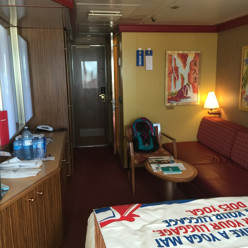 Balcony Cabin 1102 On Carnival Splendor Category 89