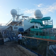 Dolphin Pool on Carnival Valor