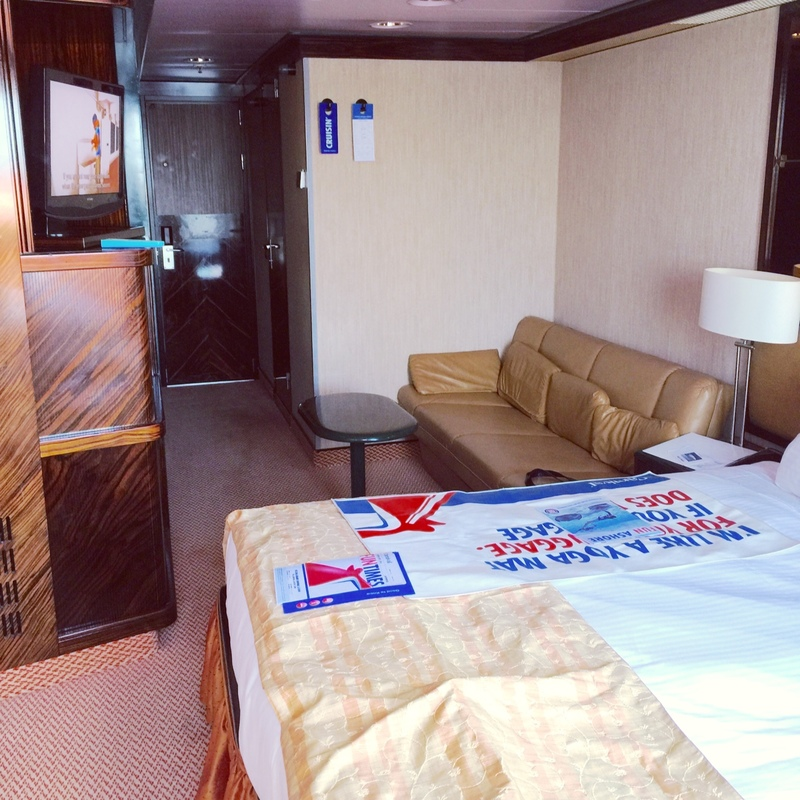 Junior Suite (obstructed view) on Carnival Elation