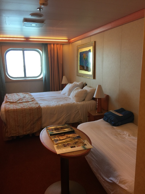 Oceanview Cabin 2427 On Carnival Conquest Category 6c