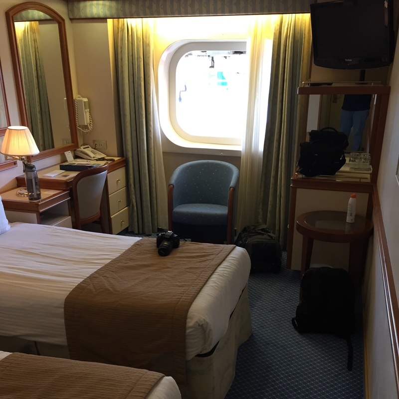 Oceanview Stateroom Obstructed View Cabin Category O Golden - What is obstructed view on a cruise ship
