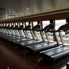 Gym, Deck 12 Forward, Port Side