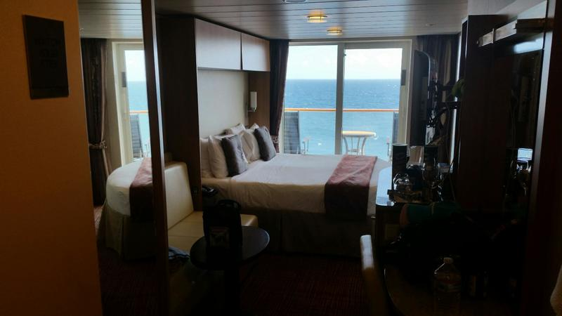 Celebrity Silhouette Cruise Review for Cabin 6219