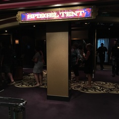 Spiegel Tent on Norwegian Breakaway