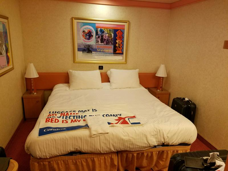 Interior Stateroom Cabin Category 4f Carnival Liberty