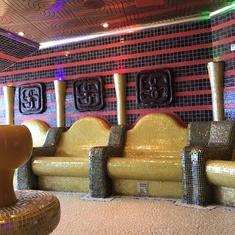 Thermal Suite Tepidarium on Carnival Dream