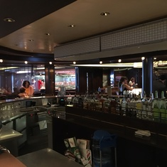 Prime Meridian Bar on Norwegian Breakaway
