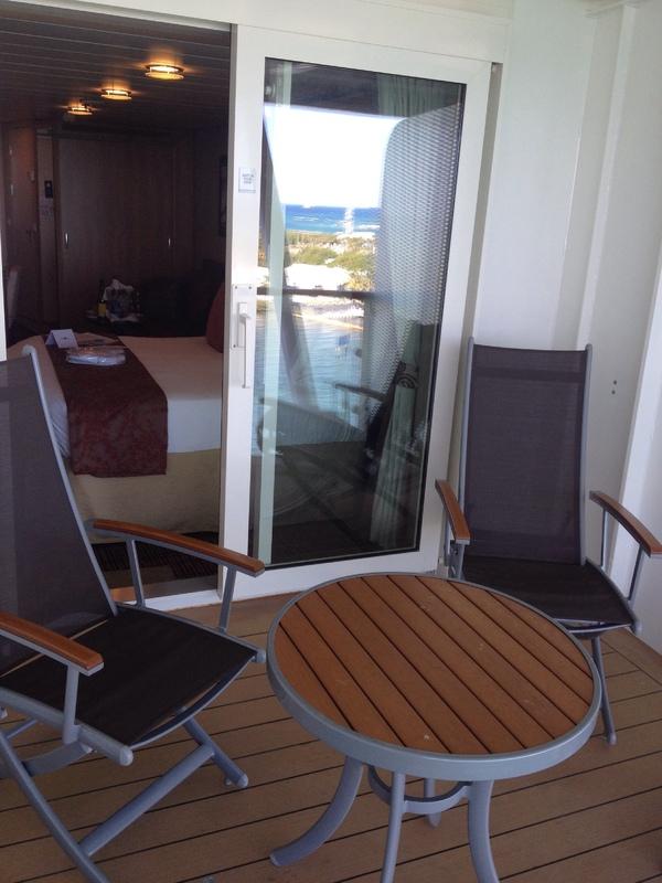 Balcony Cabin 1604 On Celebrity Silhouette Category K1