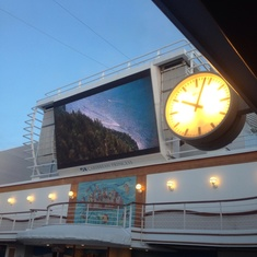 Movies Under The Stars on Caribbean Princess