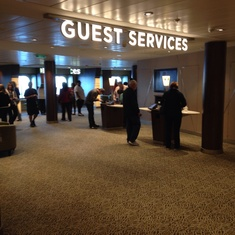 Guest Services on Quantum of the Seas