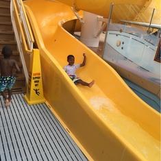 Water Slide on Disney Dream