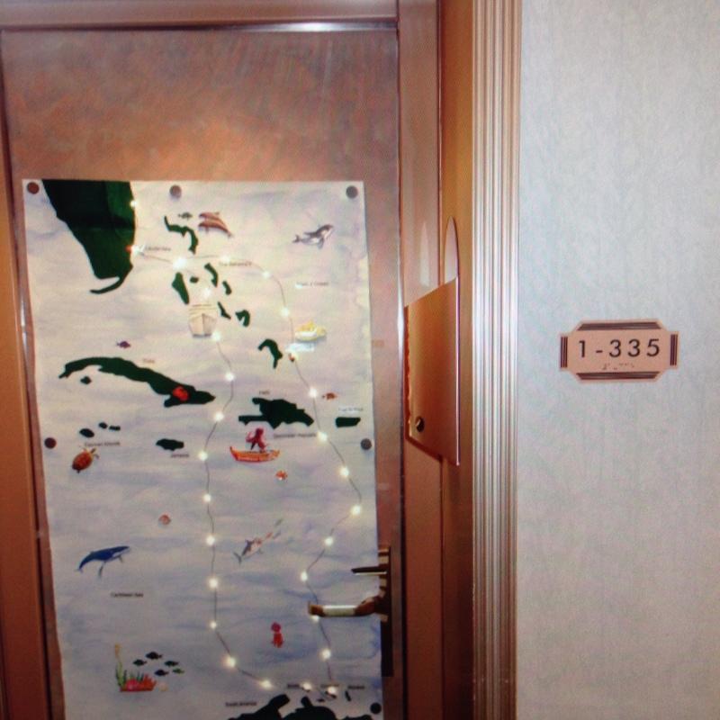 Carnival Conquest cabin 1335