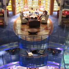 Library on Celebrity Eclipse
