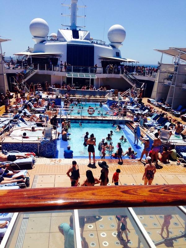 Pool on Celebrity Solstice