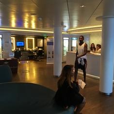 Salon on Norwegian Breakaway