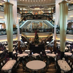 Main Dining Room on Explorer of the Seas
