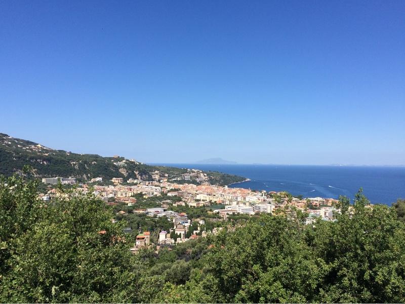 View towards Sorrento Coast (Italy)