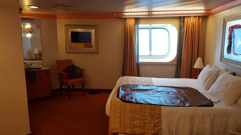 Carnival Conquest cabin 2474