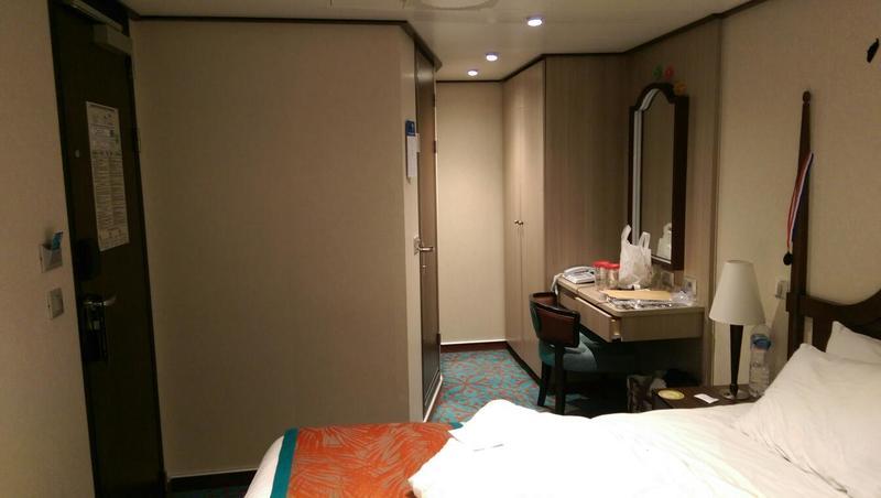 Inside Cabin 5205 on Carnival Vista Category AH