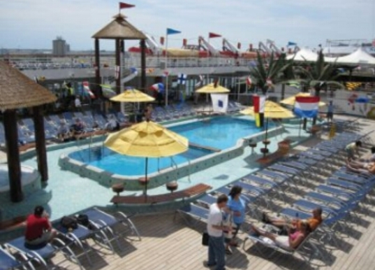 Carnival Sensation, Pools, Resort Style Pool