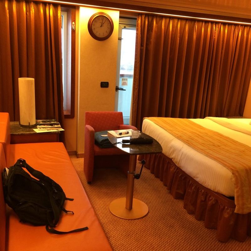 Carnival Triumph cabin 7312