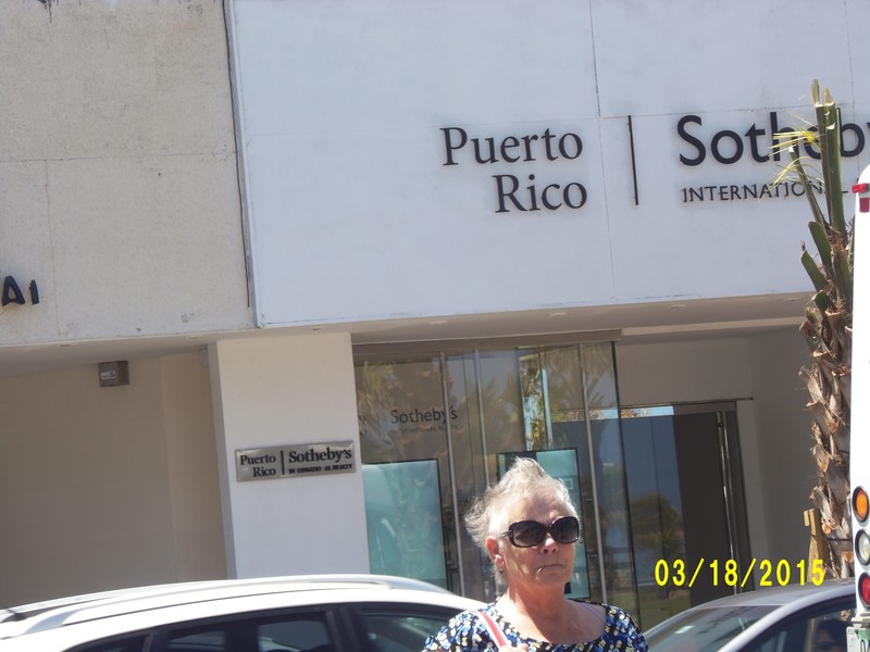 Judy in Puerto Rico - Carnival Liberty