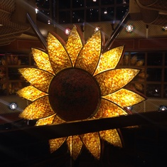 Sunflower Atrium on Carnival Conquest