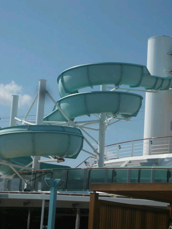 Carnival Waterworks on Carnival Pride