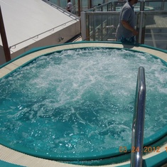 Hot Tubs on Carnival Liberty