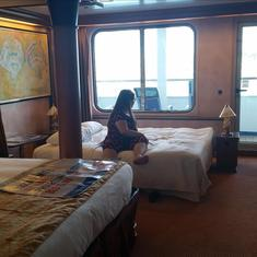 Stateroom U76 with Bridget