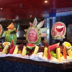 Fountainhead Cafe on Carnival Miracle