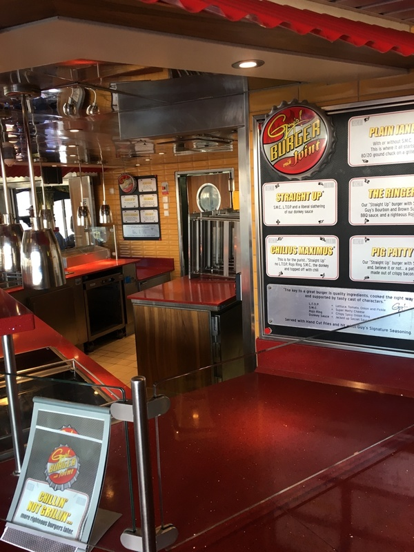 Guy''s Burger Joint on Carnival Pride