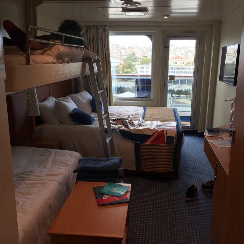 Balcony Cabin 11256 On Carnival Vista Category 8g