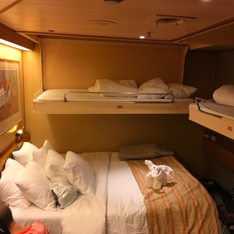 Inside Cabin 8378 On Carnival Triumph Category 4g