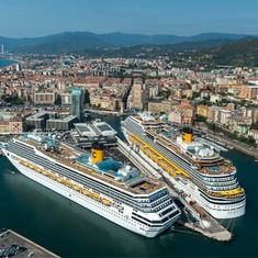Costa fascinosa cruise ship reviews and photos for Costa favolosa ponti