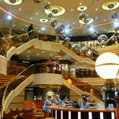 Sunshine Atrium on Carnival Sunshine